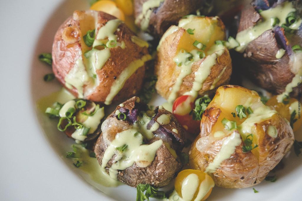 Cheesy Potato Poppers